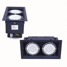 HILED Grill Ceiling Light 2 x 7W